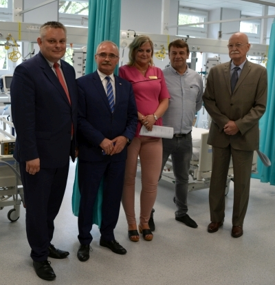 Arkadiusz Grabowski, Arkadiusz Watoła, Anna Zub, Dariusz Jorg, Władysław Pierzchała - fot. mat.pras.