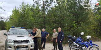Ruszyły wspólne patrole dąbrowskich policjantów i służby leśnej - fot. Policja