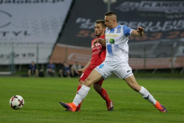 Stomil Olsztyn – Zagłębie Sosnowiec 0:2 – fot. Marek Rybicki/zaglebie.eu