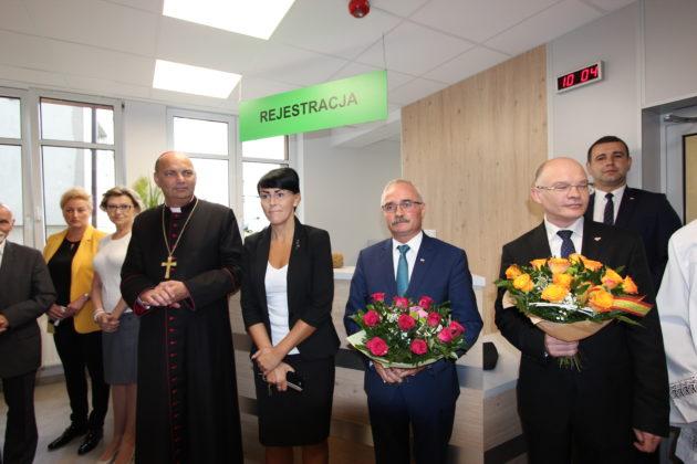 Otwarcie przychodni specjalistycznych w PZZOZ w Będzinie - fot. AR