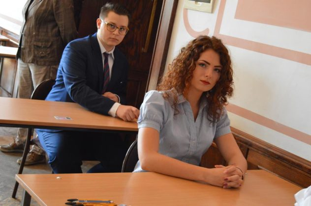 Matura 2018 w II LO im. E. Plater w Sosnowcu – fot. MZ