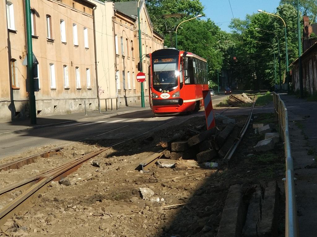 Modernizacja torowiska Pogoń - fot. MC