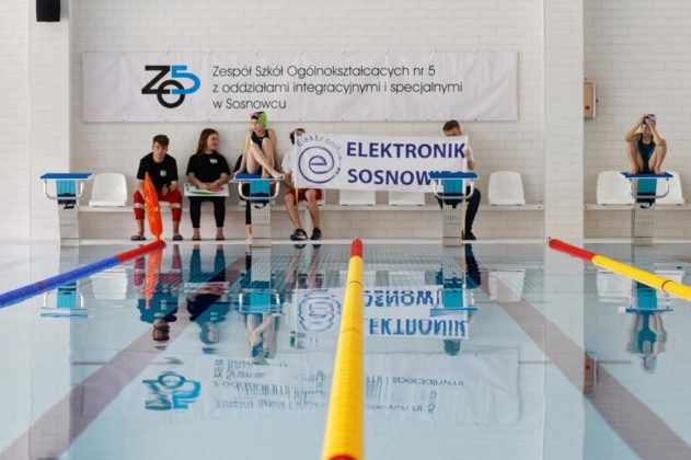 Otwarcie basenu w Zagórzu – fot. PL/UM Sosnowiec