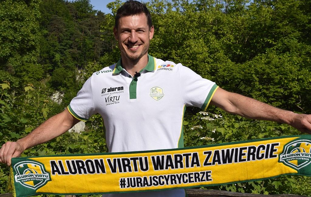 Alek Achrem nowym przyjmującym Aluronu Virtu Warty Zawiercie – fot. Krzysztof Jurak