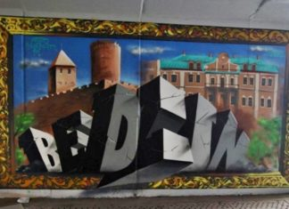 Graffiti - fot. UM Będzin