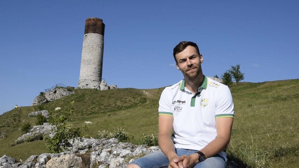 Michał Żuk pozostaje w Aluronie Virtu Warcie Zawiercie - fot. Krzysztof Jurak