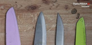 Awantura zakończona dźgnięciem nożem - fot. KMP w Sosnowcu