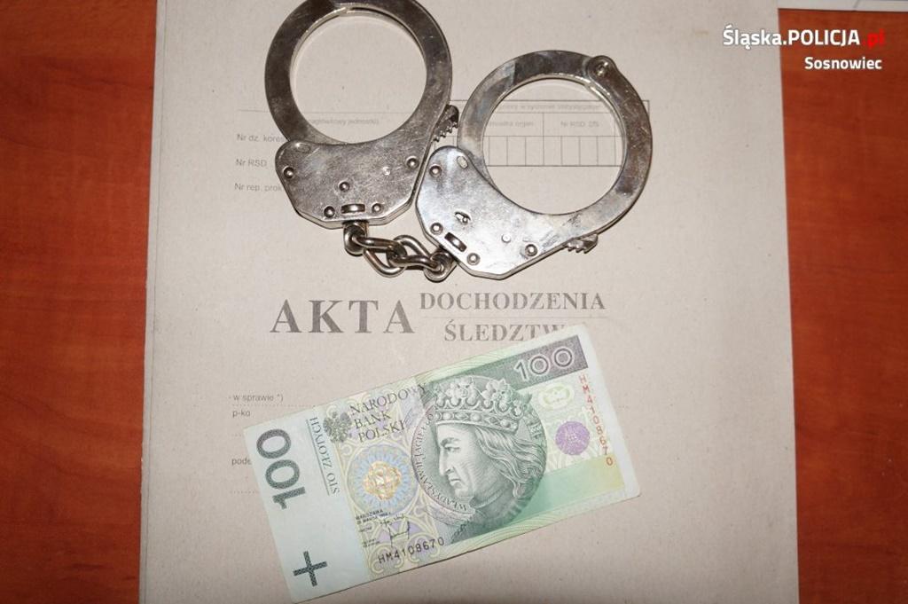 Napadł na własnego dziadka - fot. KMP w Sosnowcu