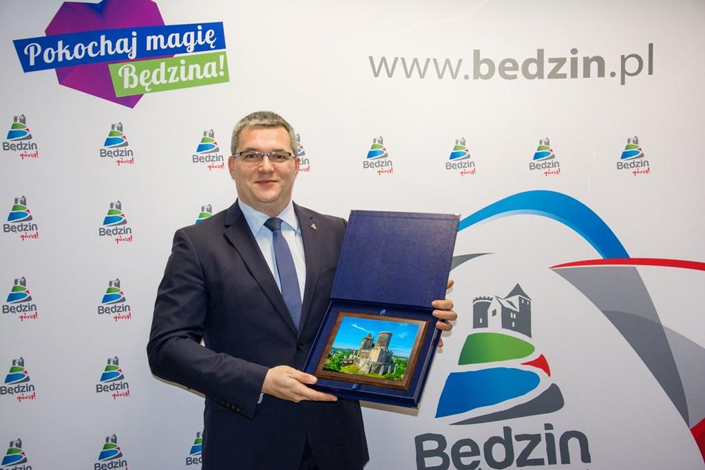 Łukasz Komoniewski - fot. UM Będzin