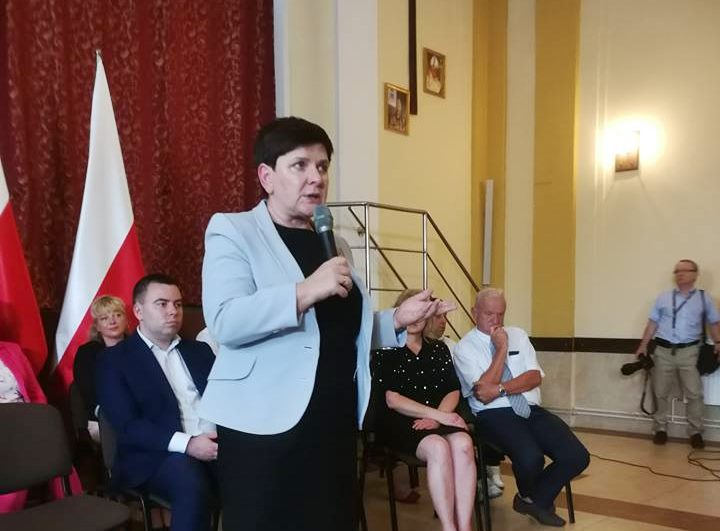 Wicepremier Beata Szydło - fot. Facebook
