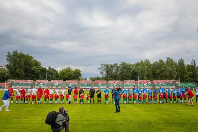 Mecz charytatywny - fot. MŁ/UM Sosnowiec