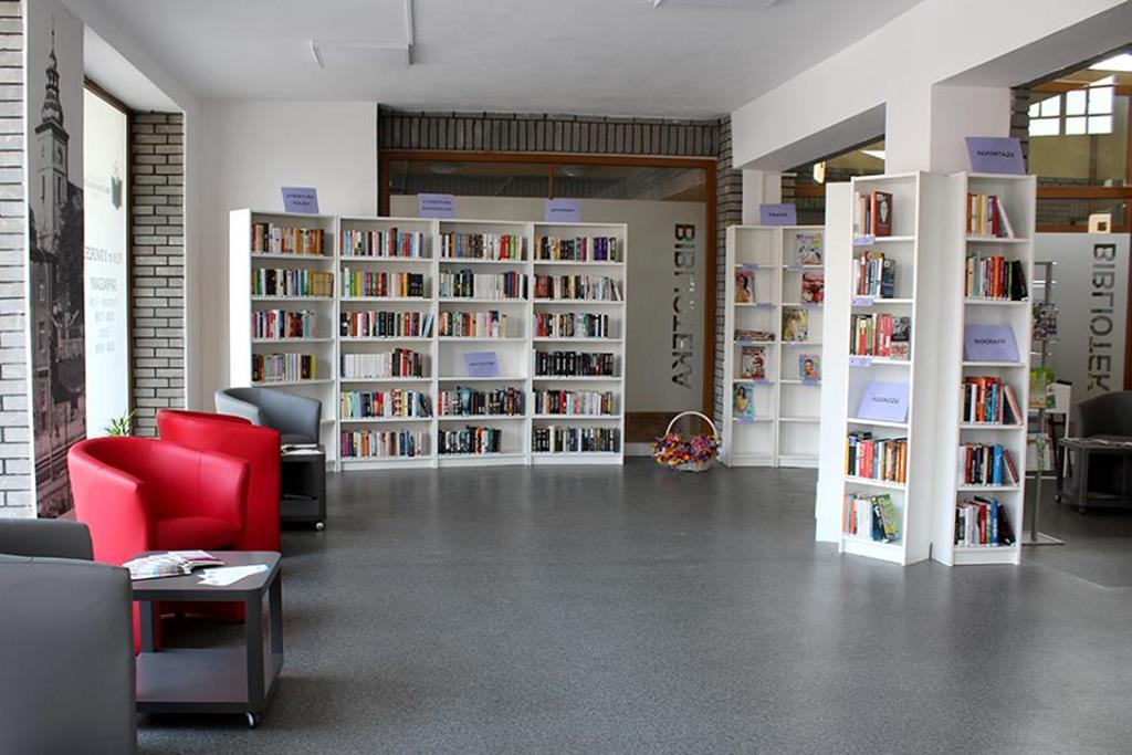 Biblioteka na dworcu w Będzinie - fot. UM Będzin