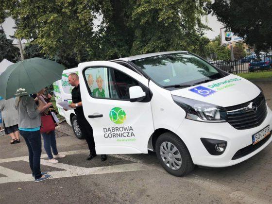Dąbrowski bus dla seniorów - fot. Zbigniew Podraza/Facebook