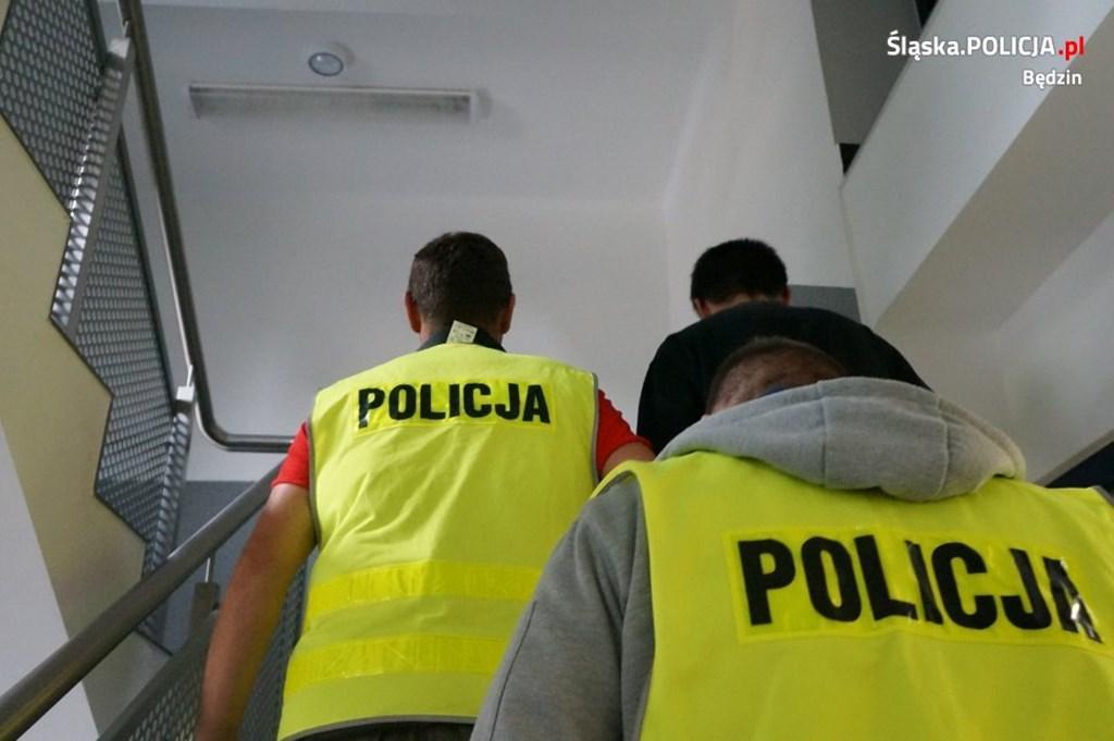 Zatrzymanie - fot. Policja Będzin