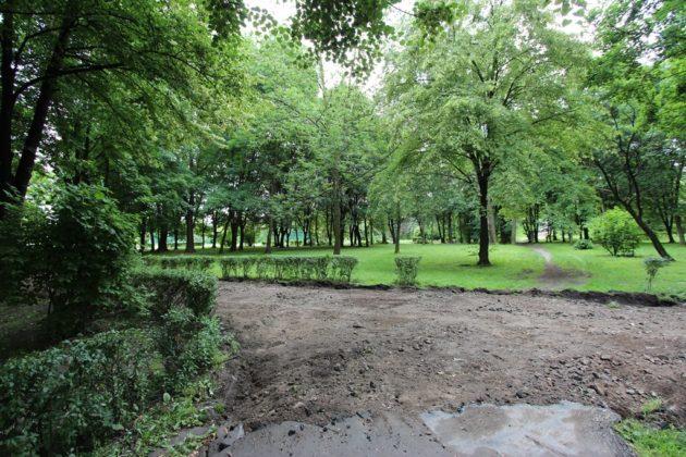 Trwa rewitalizacja Parku Hallera - fot. AR