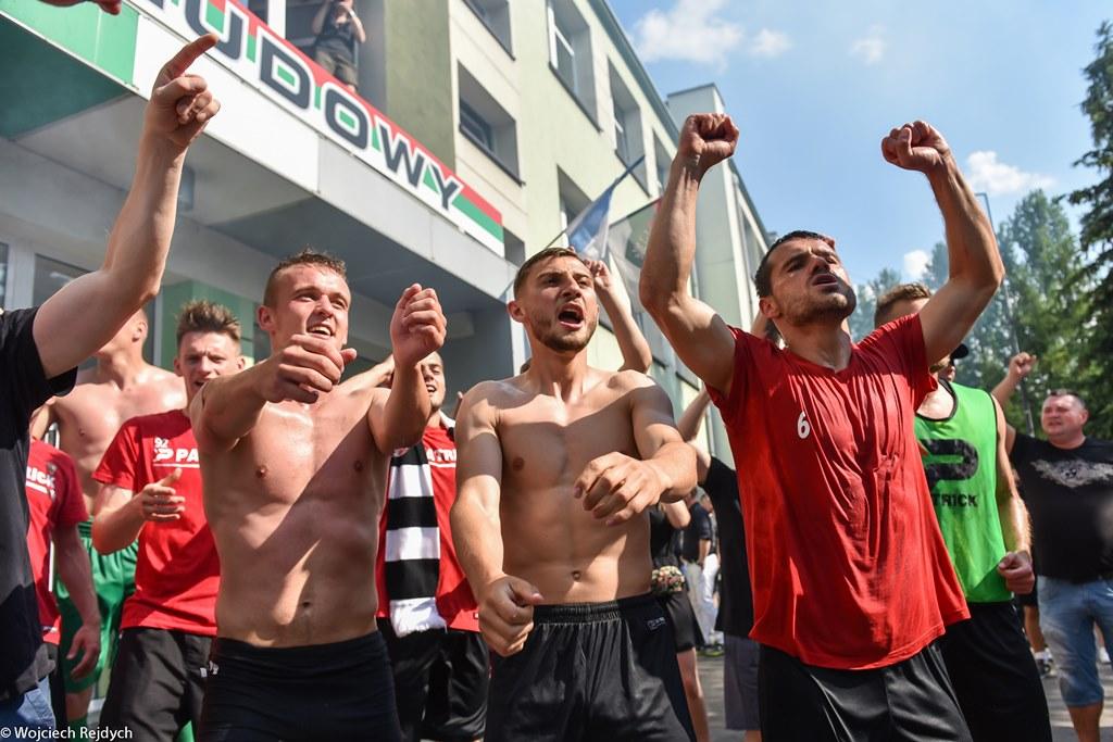Zagłębie Sosnowiec awansowało do Ekstraklasy - fot. Wojciech Rejdych