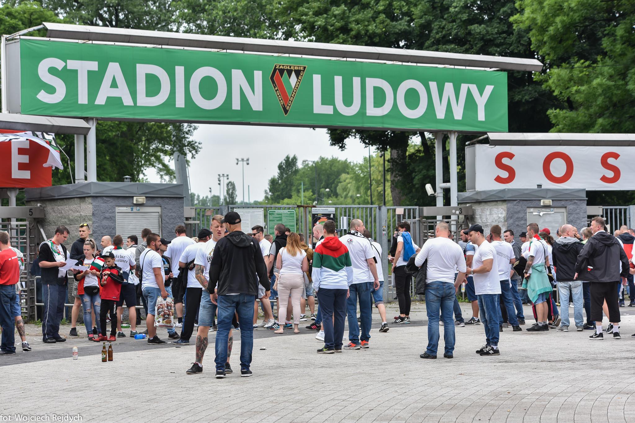 Zagłębie Sosnowiec - fot. Wojciech Rejdych