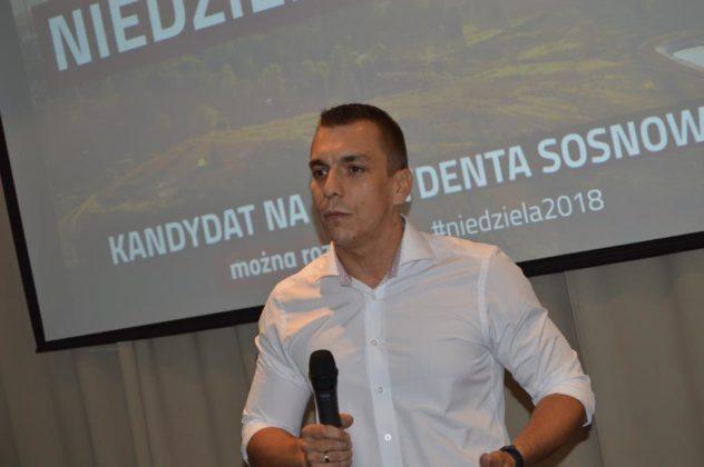Tomasz Niedziela kandydatem na prezydenta Sosnowca – fot. MZ