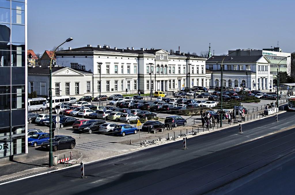 Dworzec PKP - fot. Wiesława Stawarz