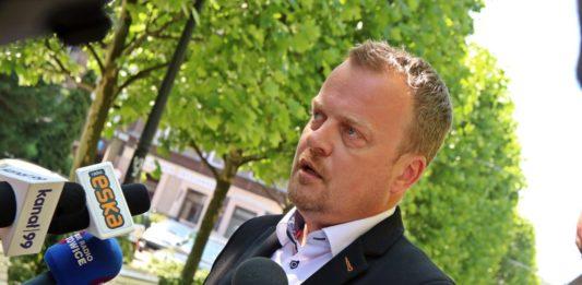 Arkadiusz Chęciński – fot. PL/UM Sosnowiec