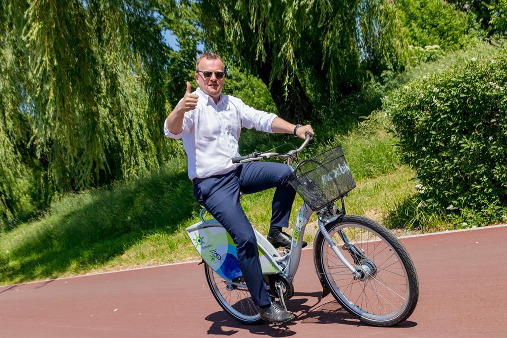 Sosnowiecki Rower Miejski - fot. Maciej Łydek/UM Sosnowiec