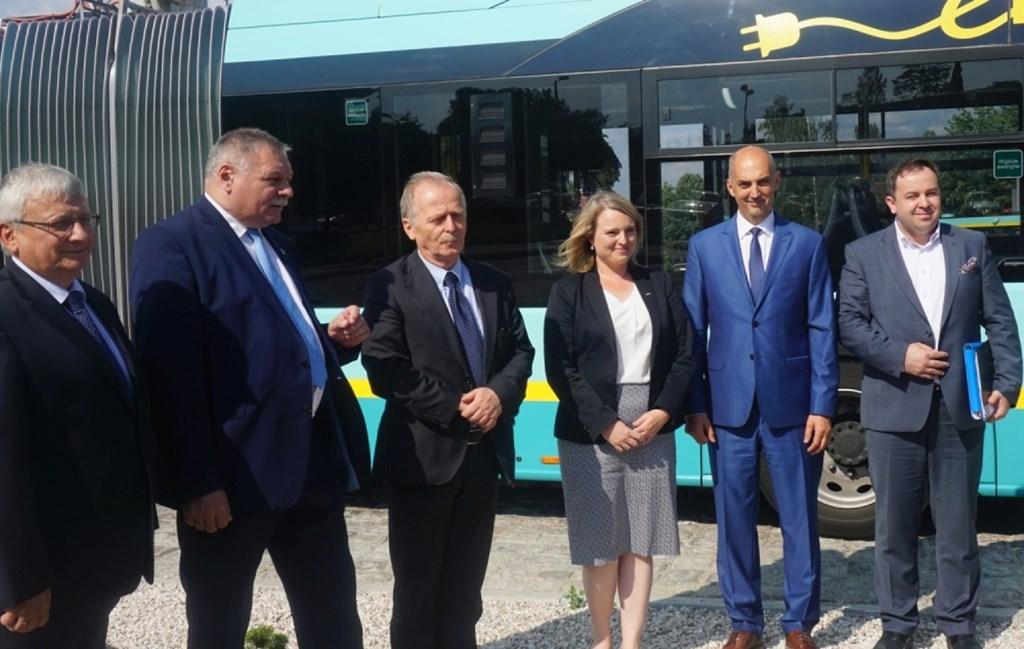 Autobusy autonomiczne w Jaworznie - fot. UM Jaworzno