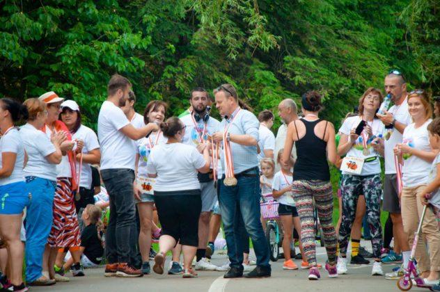 Bieg Wolności w Sosnowcu - fot. Maciej Łydek/UM Sosnowiec