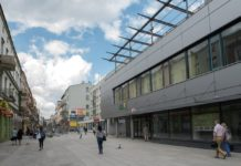 Ulica Modrzejowska w Sosnowcu - fot. Wojciech Skórka