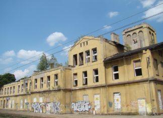 Dawny dworzec w Strzemieszycach - fot. AR