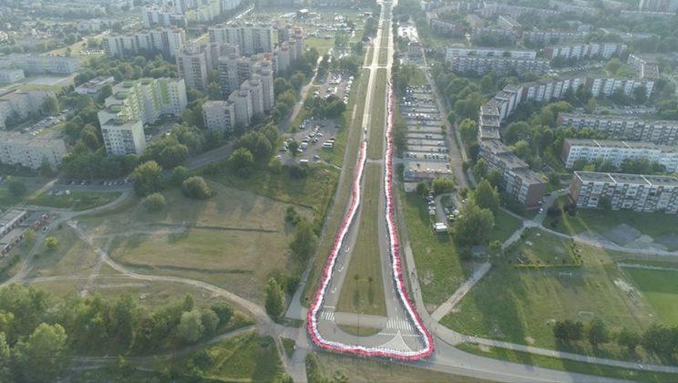 Próba bicia rekordu Guinnessa - fot. mat. pras.