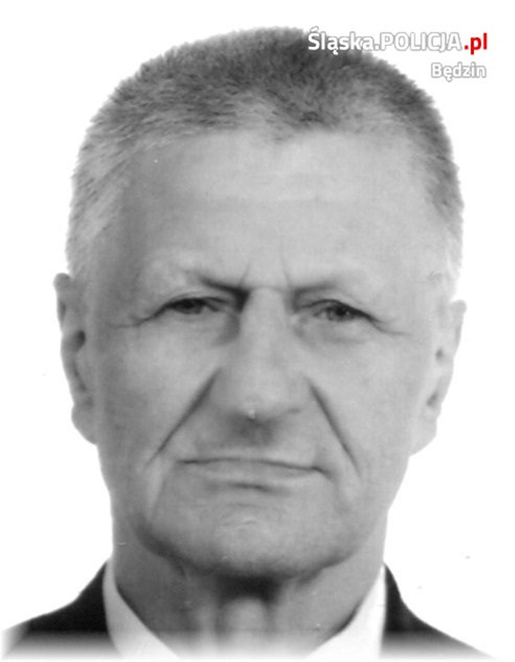 Zaginął Andrzej Lenarcik - fot. KPP Będzin
