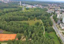 Park Podłęże w Jaworznie - fot. UM Jaworzno
