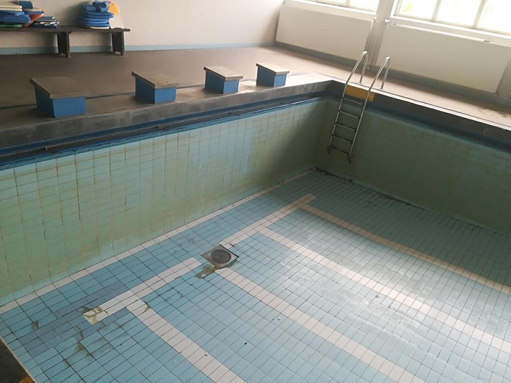 Remont szkolnego basenu w Czeladzi – fot. UM Czeladź
