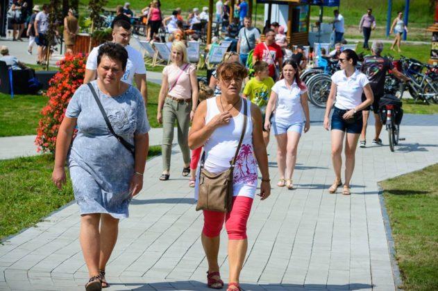 Otwarcie plaży miejskiej w Będzinie – fot. UM Będzin