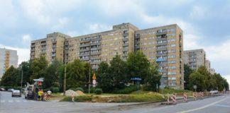 Przebudowa skrzyżowania na Syberce – fot. Łukasz Komoniewski/Facebook