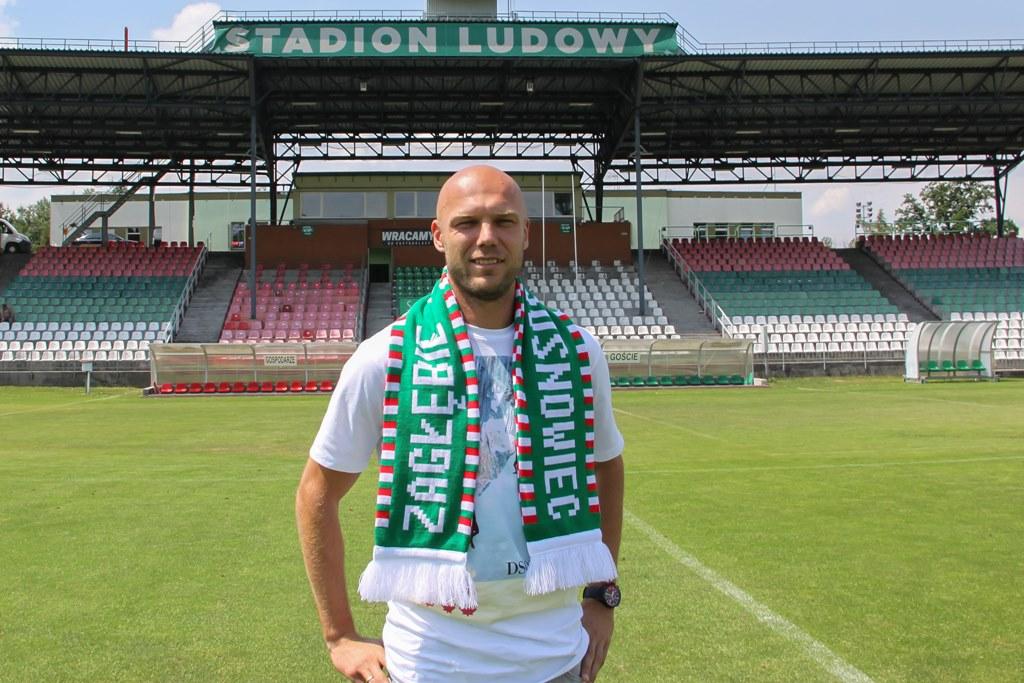 Piotr Polczak to kolejny nabytek Zagłębia Sosnowiec – fot. zaglebie.eu