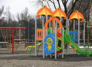 Plac zabaw przy Tysiąclecia - fot. UM Dąbrowa Górnicza