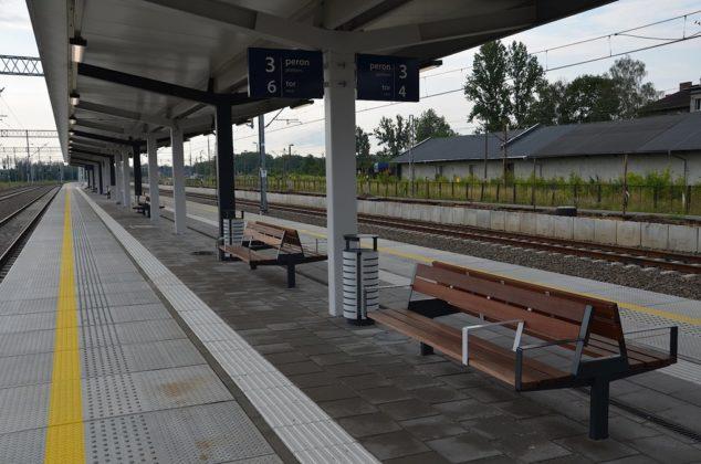 Modernizacja peronu Jaworzno-Szczakowa – fot. PKP PLK