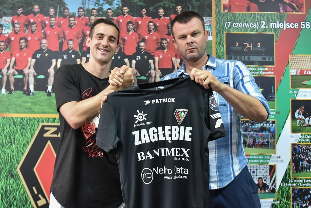 Brazylijczyk Mello został nowym zawodnikiem Zagłębia Sosnowiec – fot. zaglebie.eu
