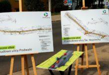 Przebudowa ulicy Podwale w Jaworznie – fot. UM Jaworzno