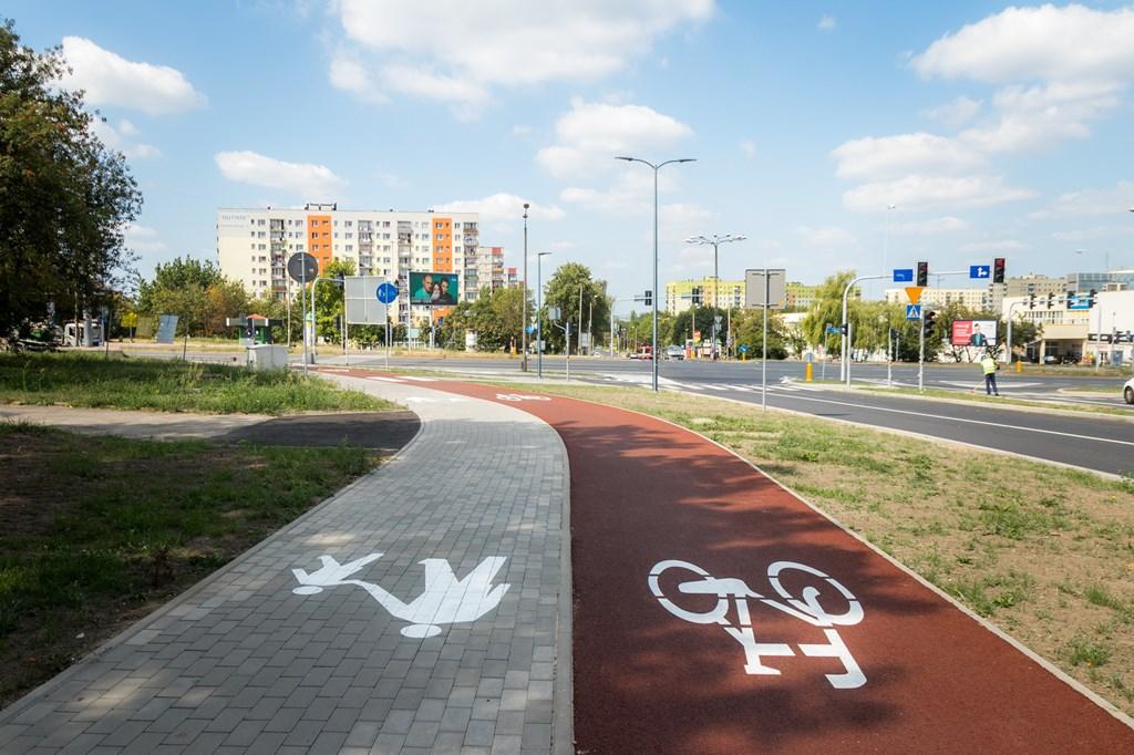 Ulica Blachnickiego w Sosnowcu - fot. UM Sosnowiec