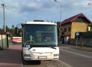 Policja zatrzymała pijanego kierowcę autobusu – fot. KPP Będzin