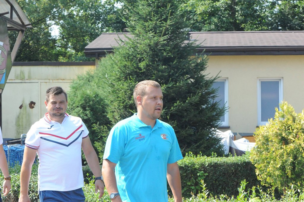Trener piłkarek Czarnych Sosnowiec Grzegorz Majewski – fot. Czarni Sosnowiec