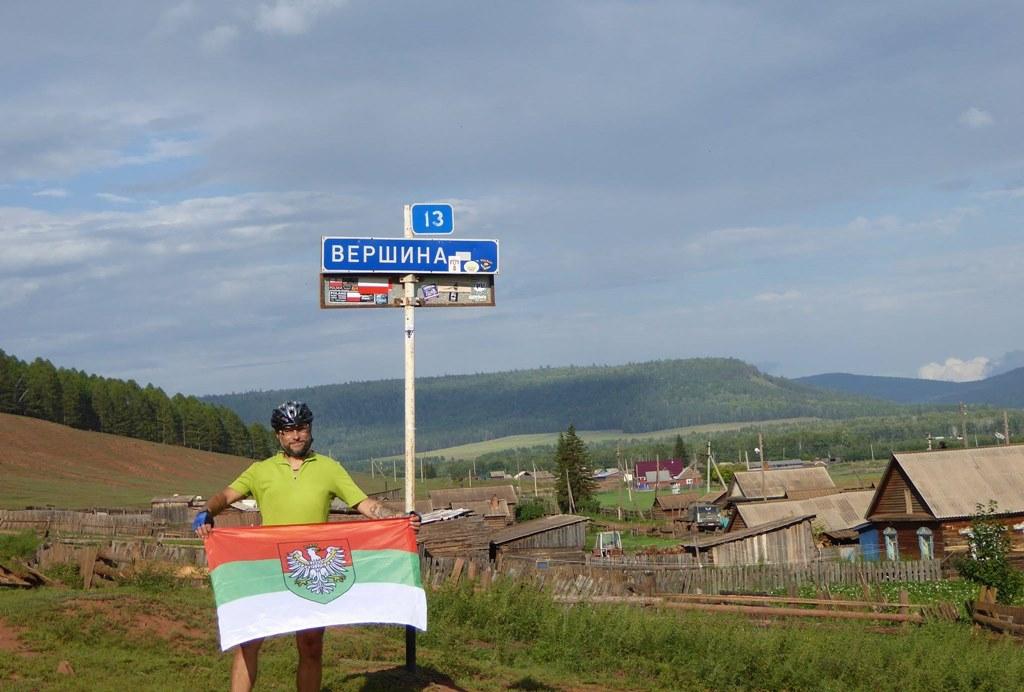 Waldek Malina w Wierszynie – fot. arch. prywatne