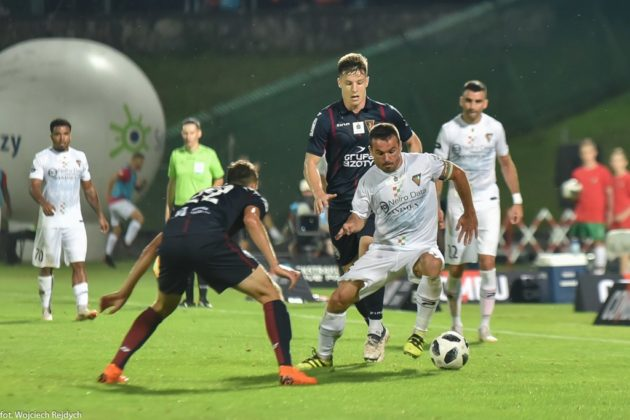 Zagłębie Sosnowiec - Pogoń Szczecin 3:0 - fot. Wojciech Rejdych
