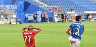 Lech Poznań – Zagłębie Sosnowiec 4:0 – fot. Wojciech Rejdych