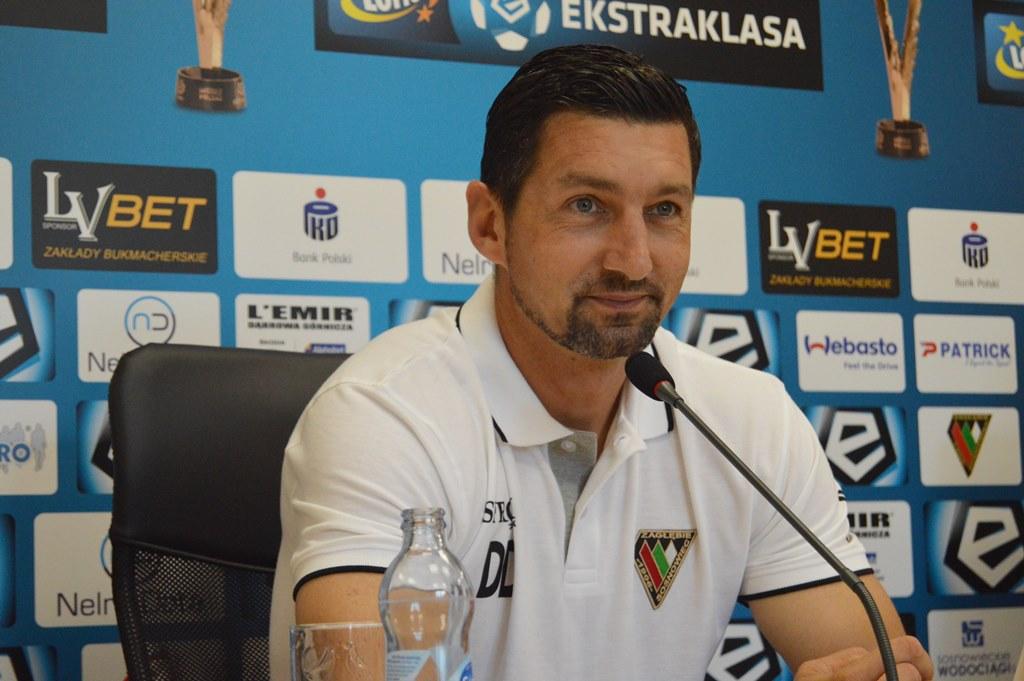 Dariusz Dudek przed meczem z Lechem Poznań – fot. MZ
