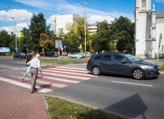 Inteligentne przejście przy kościele św. Barbary w Sosnowcu – fot. UM Sosnowiec