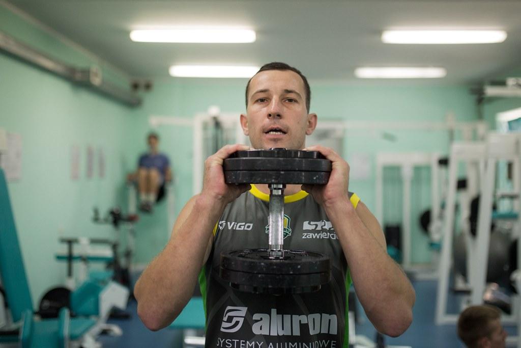 Siatkarze Aluronu Virtu Warty Zawiercie wracają do treningów – fot. mat. pras.