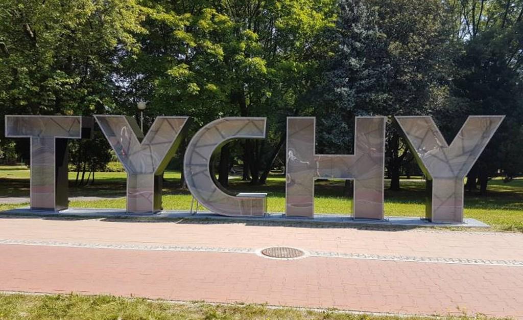 """Instalacja """"Tychy"""" - fot. UM Tychy"""